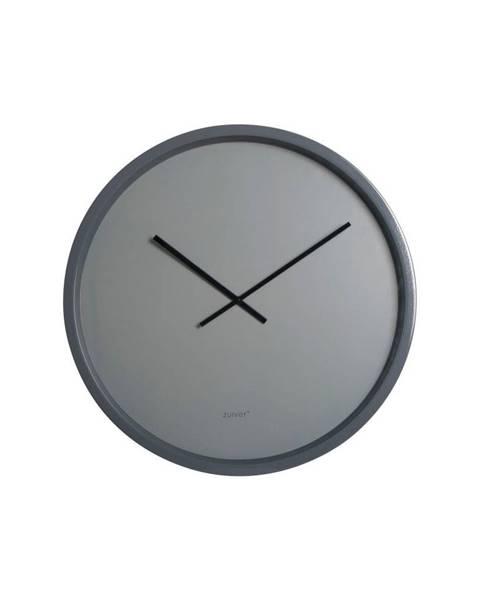 Zuiver Sivé nástenné hodiny Zuiver Time Bandit