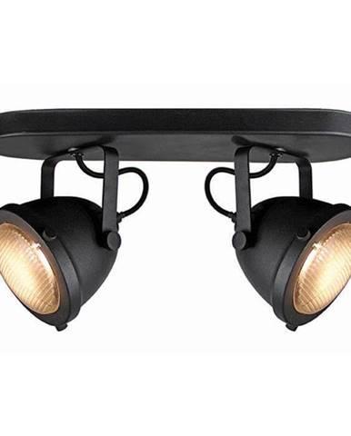 Čierne nástenné svietidlo LABEL51 Spot Moto Dos