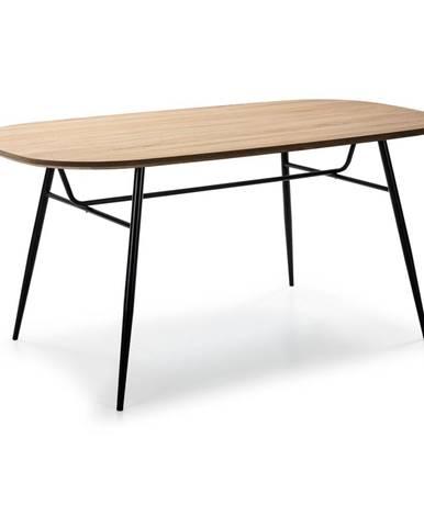 Jedálenský stôl s doskou v dekore dubového dreva Marckeric Mirta