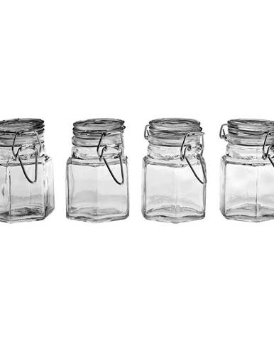 Sada 4 sklenených koreničiek Premier Housewares