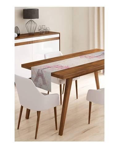 Behúň na stôl z mikrovlákna Minimalist Cushion Covers Paris, 45×145 cm