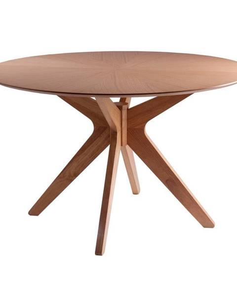 sømcasa Jedálenský stôl v dekore dubového dreva sømcasa Carmel, ⌀ 120 cm