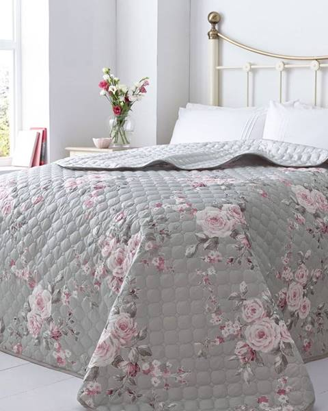 Catherine Lansfield Pléd na posteľ Catherine Lansfield Canterbury Rose, 240×260cm