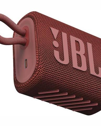 Prenosný reproduktor JBL GO3 červen