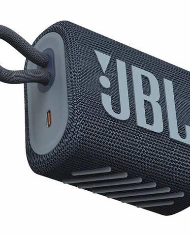 Prenosný reproduktor JBL GO3 modr