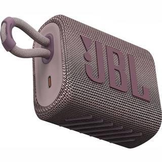 Prenosný reproduktor JBL GO3 ružov