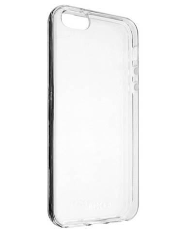 Kryt na mobil Fixed na Apple iPhone 5/5s/SE priehľadný
