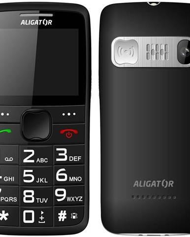 Mobilný telefón Aligator A675 Senior čierny