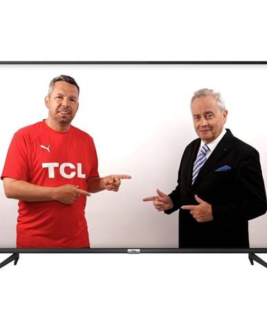 Televízor TCL 43P610 čierna