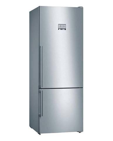 Kombinácia chladničky s mrazničkou Bosch Serie | 8 Kgf56pidp nerez