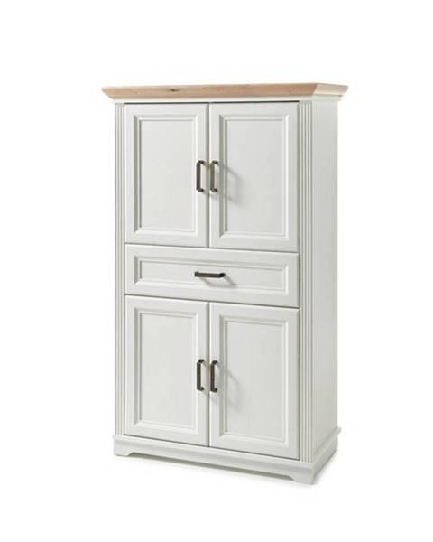 Sconto Kúpeľňová skrinka JASMIN pínia/dub artisan