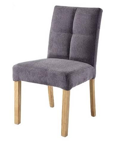 Jedálenská stolička DAKOTA sivá