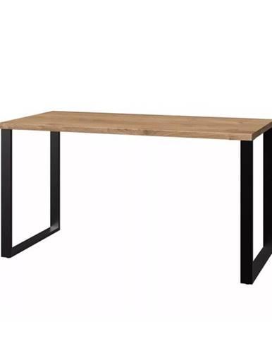 Písací stôl MERSEY doskový dub/grafit
