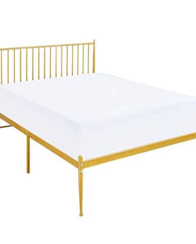 Posteľ zlatý náter 90x200 ZAHARA