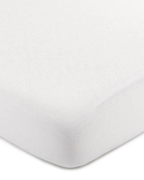4Home 4Home Jersey prestieradlo biela, 60 x 120 cm