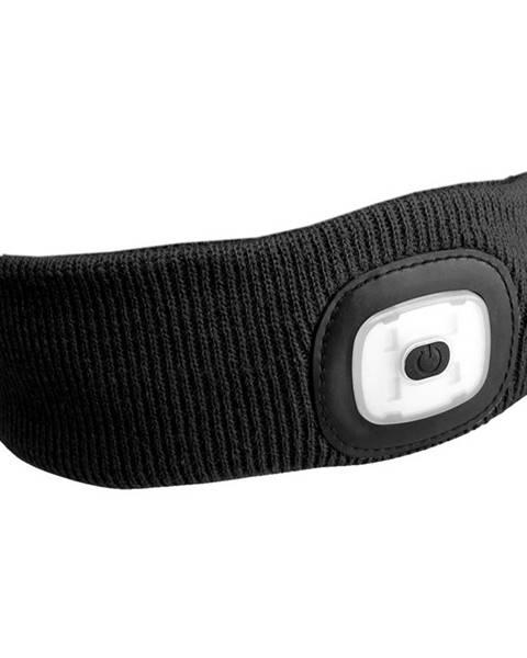 Sixtol elenka s čelovkou 45lm, nabíjecí, USB, univerzální velikost, černá SIXTOL