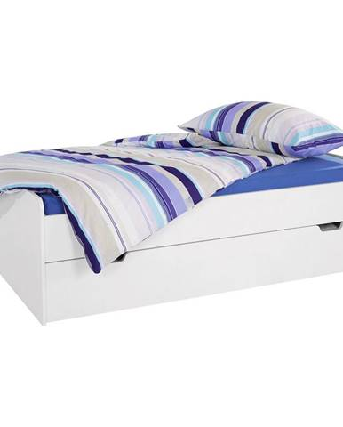Posteľ Maxi 2 90/200 Alpská Biela