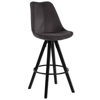 Barová stolička Dima Tmavá Šedá