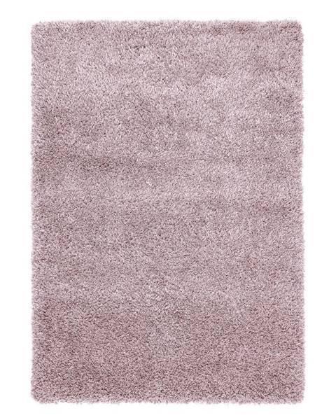 Möbelix Koberec S Vysokým Vlasom Lambada 4, 160/230cm, Ružová