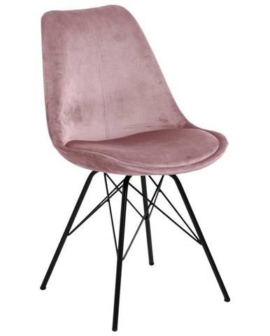 Jedálenská stolička Eris staroružová