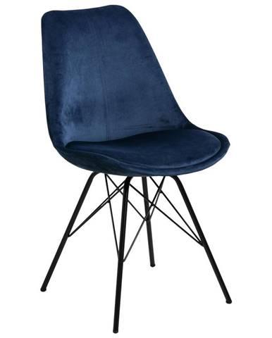 Jedálenská stolička Eris Tmavá Modrá