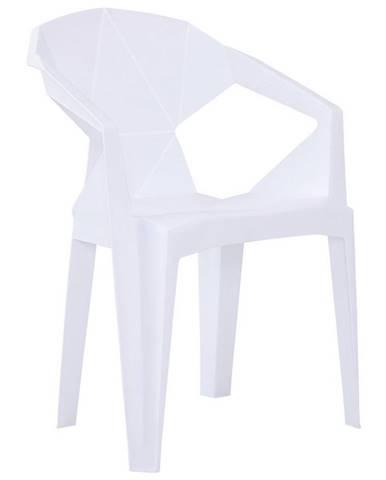 Plastová Stolička Eli Biela