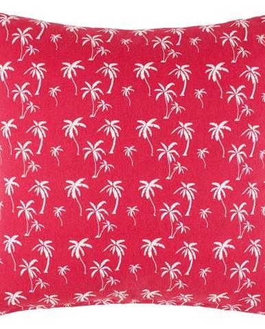 Dekoračný Vankúš Lady Palms, 45/45 Cm, Ružová