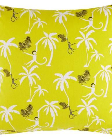 Dekoračný Vankúš Monkey Circus, 45/45 Cm, Žltá