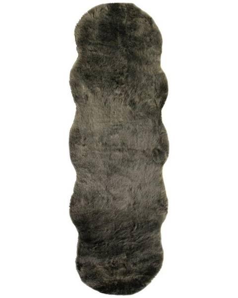 Möbelix Umelá Kožušina Chrisi 2, 55/160cm, Sivohnedá