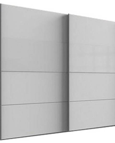 Möbelix Skriňa S Posuvnými Dverami Bramfeld,biela/sklo Biele