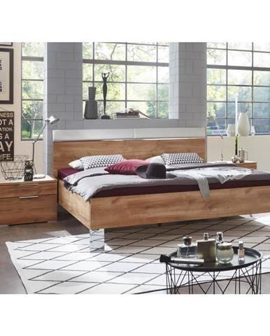 Futónová Posteľ Level Beds A 180/200cm,imitácia Prírod.dubu