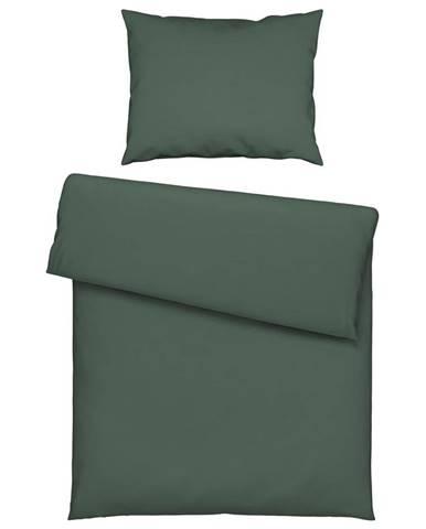 Posteľná Bielizeň Iris, 140/200 Cm, Zelená