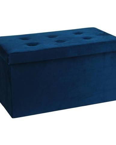 Sedacia Lavica Velvet Modrá