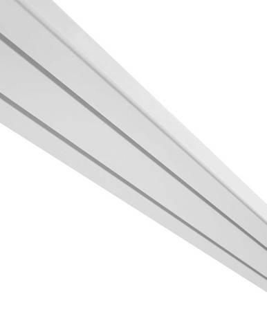 Záclonové Koľajničky Amelie, 180cm, Biela