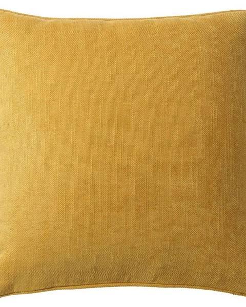 Möbelix Poťah Na Vankúš Mary Leinen, 48/48cm, Žltá