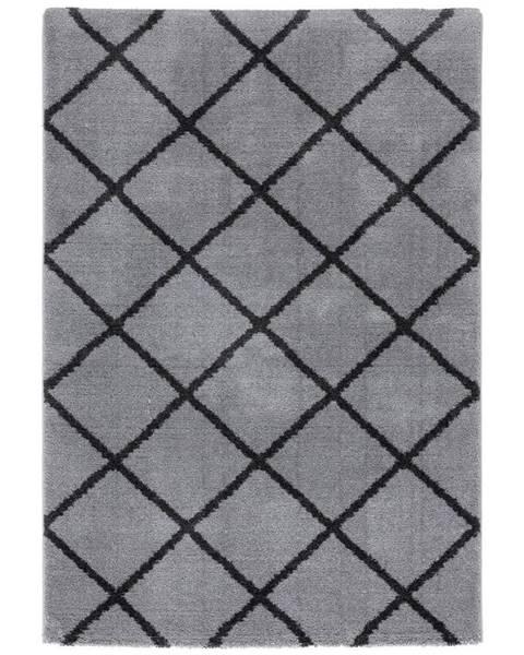 Möbelix Tkaný Koberec Montreal 2, 120/170cm, Sv.sivá