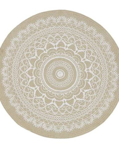 Hladko Tkaný koberec Mila, 100cm, svetlohnedá