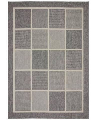 Hladko Tkaný koberec Minnesota 2, 120/170cm, sivá