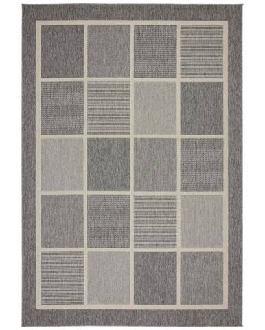 Hladko Tkaný koberec Minnesota 3, 160/230cm, sivá