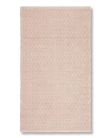 Ručné Tkaný koberec Carola 1, 60/120cm, Ružová