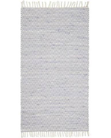 Ručné Tkaný Koberec Mary 2, 80/150cm, Modrá
