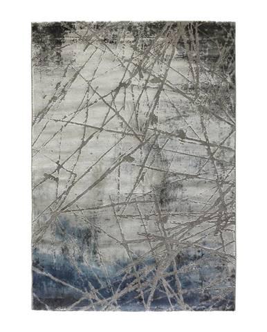 Tkaný koberec Manchester 1, 80/150cm, Modrá