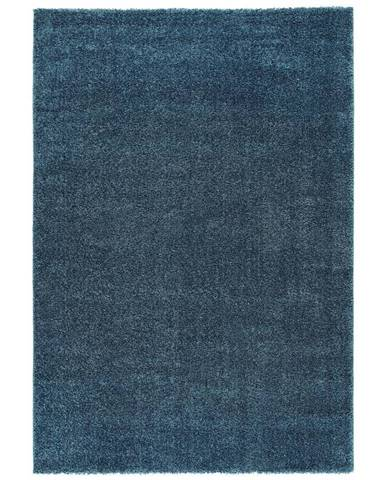 Tkaný koberec Rubin 1, 80/150cm, Modrá
