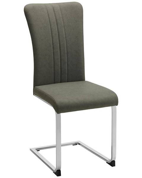 Möbelix stolička sergio sivá