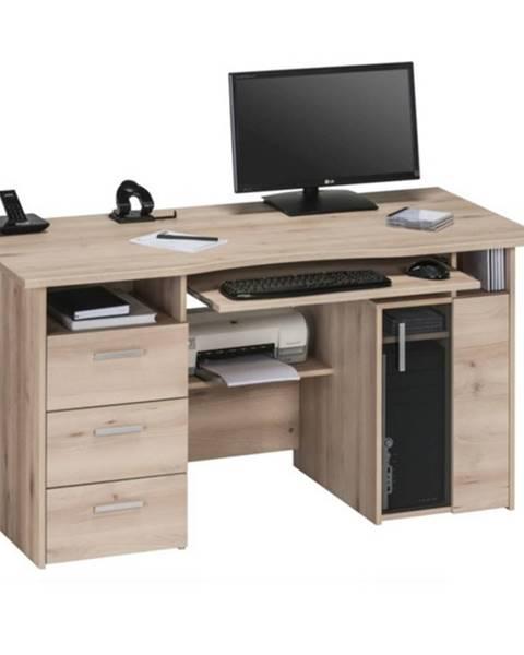 Sconto Pracovný stôl BECKETT buk