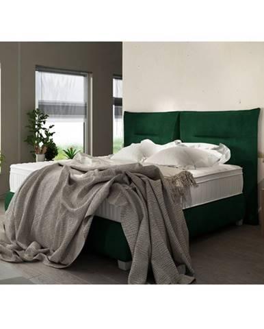 Posteľ ESTEE zelená, 180x200 cm