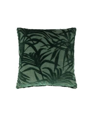 Zelený vankúš s výplňou Zuiver Miami, 45×45cm