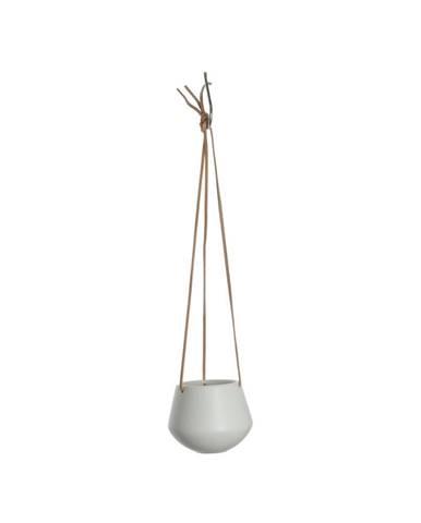 Biely závesný kvetináč PT LIVING Skittle, ⌀12,2 cm