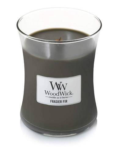 Sviečka s vôňou jedle WoodWick, doba horenia 55 hodín horenia