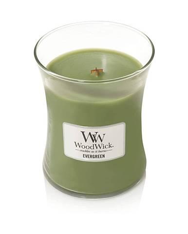 Vonná sviečka Woodwick Vôňa ihličia, 55 hodín horenia